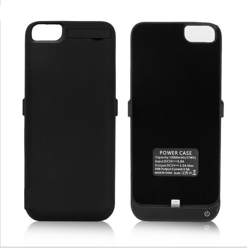 NENG 10000mAh High Quality Rechargeable Battery Charging Case for IPhone 6 6s 7 8 4.7 Inch External Battery Backup