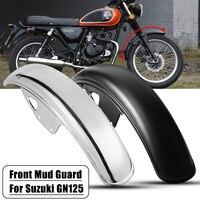 56cm 22.05inch Motorcycle Front Fender Flares Mud Flaps Mud Splash Guard Wheel Cover Mudguard for Suzuki GN125