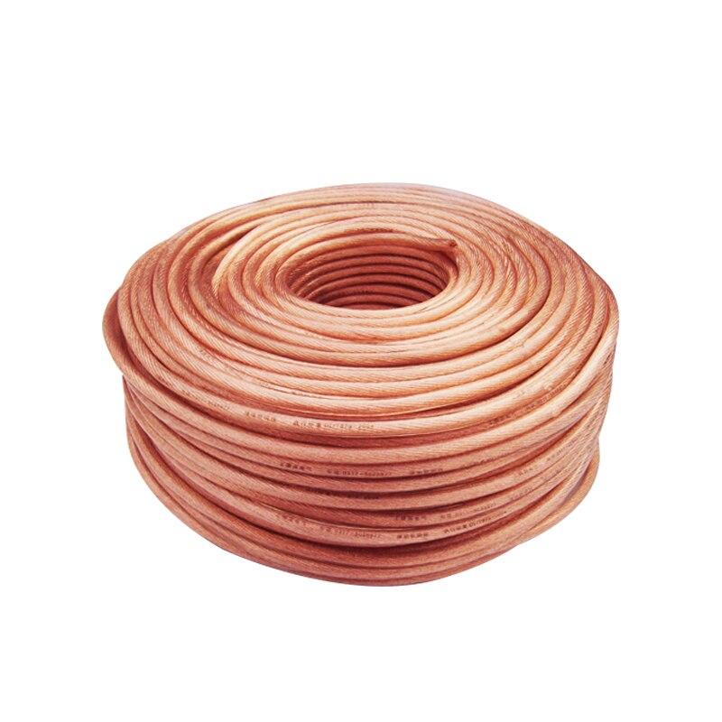 2M Cable de soldadura de cobre 10 16 25 35 conexión cuadrada de tierra para uso de soldadura Cable suave transparente envío gratis 7