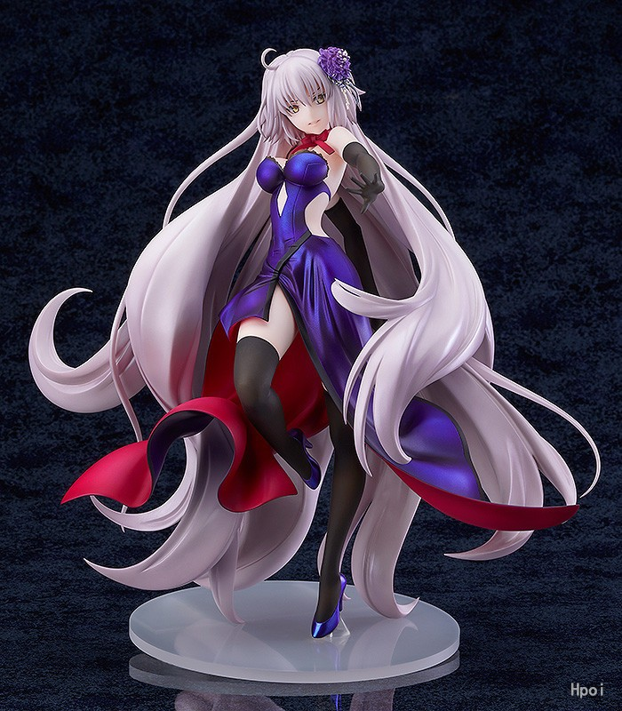 Fate Grand Order Dress Avenger Joan of Arc Jeanne d'Arc Alter Figure Collectible Model Toys 26cm