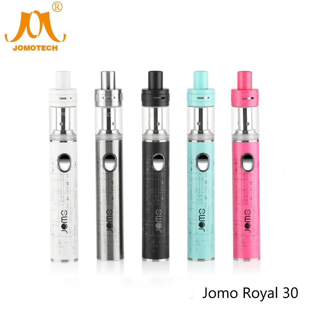 2017 JomoTech Royal 30 Kit 1300mAh E-cigarette Vapor Mod 30W Vape Pen Electronic Cigarette Vaporizer VS Istick 30W Jomo-108