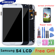 5.0 LCD do samsunga Galaxy S4 wyświetlacz LCD z ramką GT i9505 i9500 i9505 i9506 i9515 i337 ekran dotykowy Digitizer