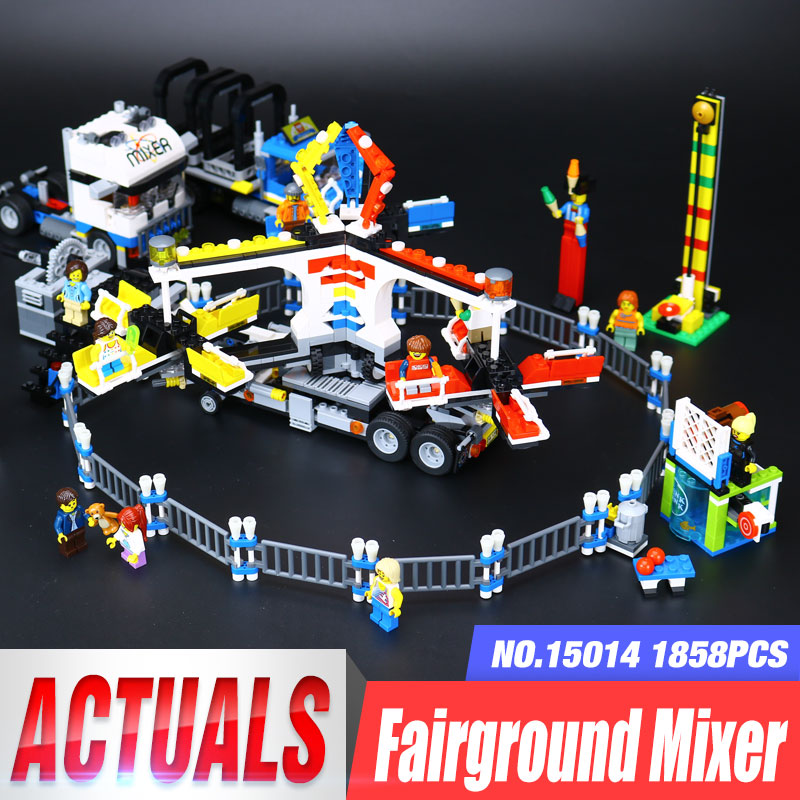 Lepin 15014 Genuine Street Series The Amusement Park Giant Stride Carnival Set 10244 Building Blocks Bricks Toy Educational the unhappy giant level 3