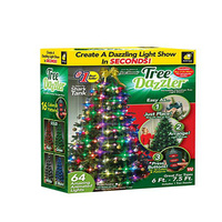 Christmas Light Tree Dazzler String Light US/EU plug LED Energy Saving Covered Easy to Install Sparkling Rope Light