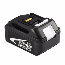18V Rechargeable Battery 6AH 6000mAh good quality Li-Ion Battery Replacement Power Tool Battery For MAKITA BL1860 стоимость