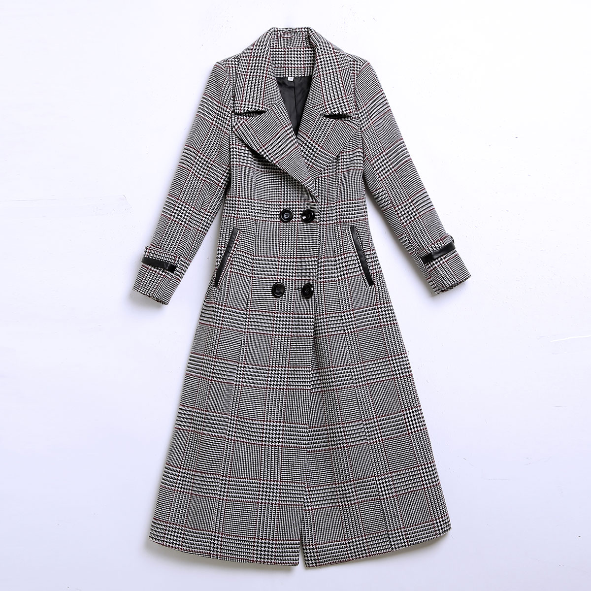 Maid Pardessus Le Longueur D'hiver Style Qualité Version Mode De Beige 2018 Nouveau kaki Et Mi Automne gris Treillis jaune Coréenne Femmes Genou Manteau fqTnpw