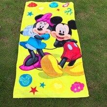 Karton Bad handtuch kitty, autos, Mickey Minnie, hund patrol, für kinder schwimmen, sommer strand schwimmen