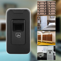 Home Fingerprint Sauna Tool Shoe Intelligent Learning Door Drawer Smart Security Anti theft Cabinet Lock Office Keyless