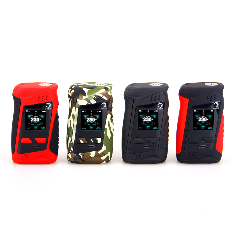 Yosta Livepor 230 Box Mod with 1.33 inch IPS screen Powered by dual 18650 Battery for vape E Cigarette Yosta 230W box yosta livepor 160 box mod 510 e cigarette 160w vape vw tc with dry coil electronic cigarette livepor vaporizer
