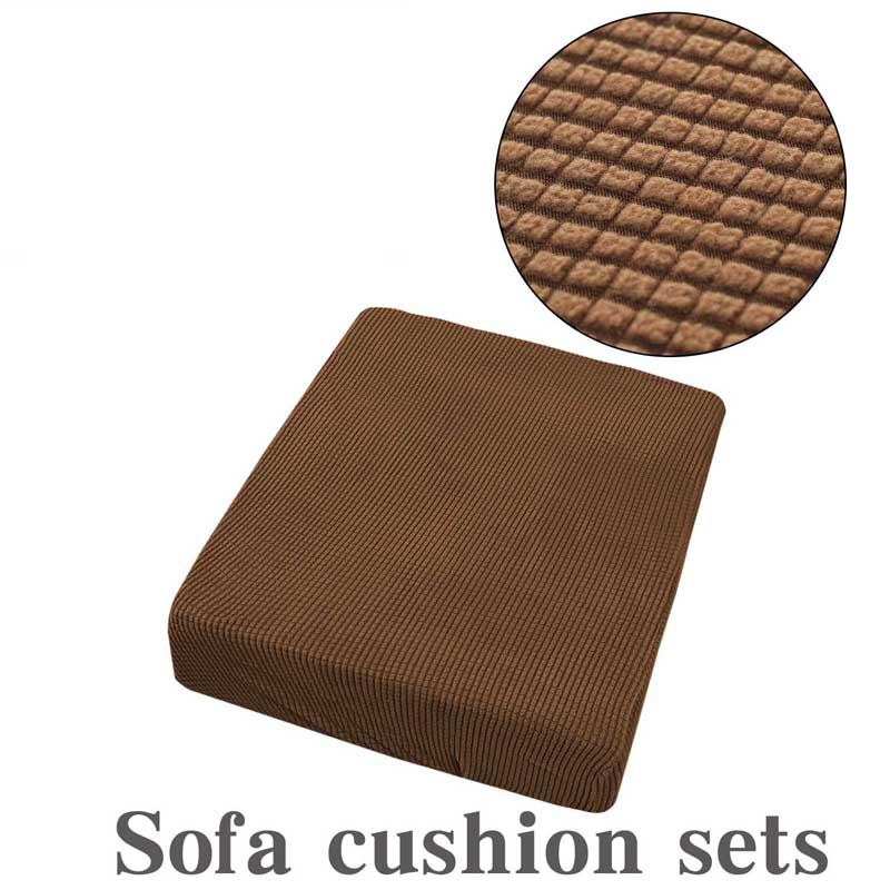 Capa para sofá xadrez de lã, capa protetora para sofá e almofadas em tecido xadrez de lã, capa para sofá de 1 ou 4 lugares
