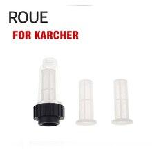 """ROUE Filtro Dellacqua in Ingresso G 3/4 """"di Montaggio Medio Compatibile con tutti i Karcher K2 K7 serie rondelle di pressione 1 pz Con Due Reti"""