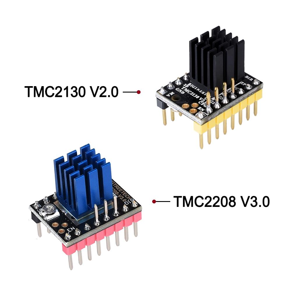 BIGTREETECH TMC2130 V2.0 Stepper Motor Driver Silent SPI TMC2208 driver reprap SKR V1.3 MKS GEN L Board for 3D Printer Parts