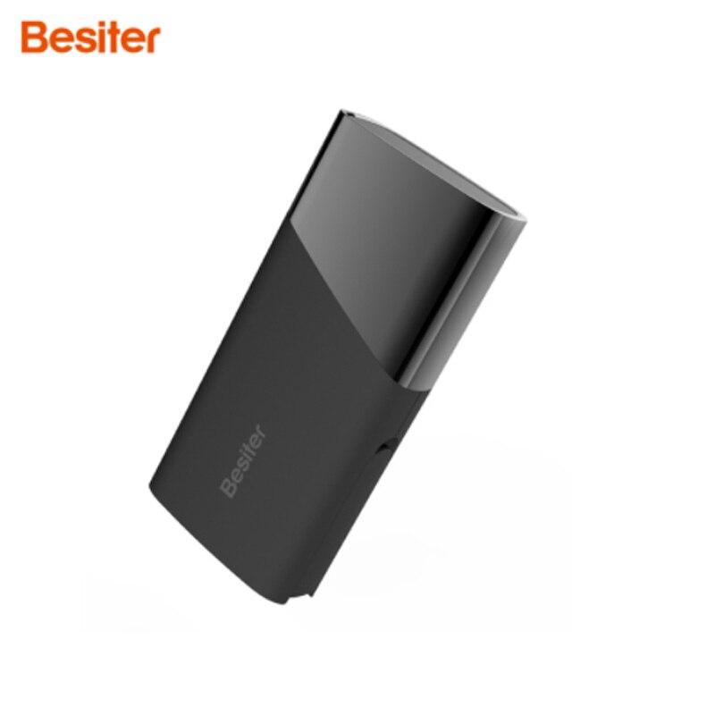 Besiter 5000 mah Portátil Cargador de Batería Externo de Carga Con LED Banco de