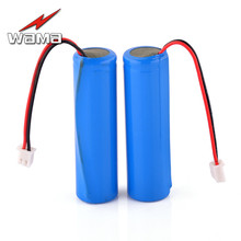 2x Wama 2600mAh 18650 Protected PCB 3.7V Li-ion Lithium 1S Rechargeable Battery Packs for Flashlight DIY Loudspeaker FM Radio