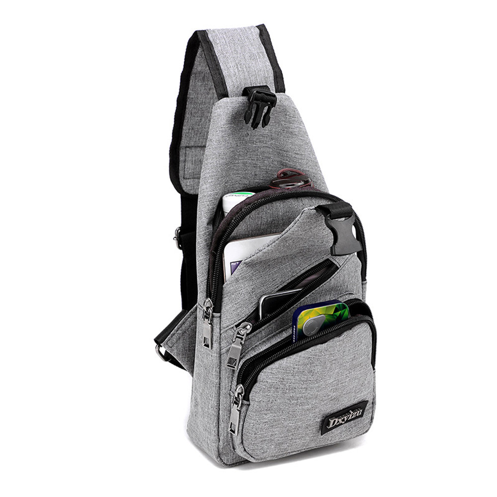 Canvas Shoulder Bags 4 Colors  Chest Bag Casual  Crossbody Bags Bolsos Mujer Bolsas 2018
