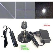 808nm 200 мВт инфракрасный лазерный линейный лазерный модуль Интерактивная проекция позиционирования зрительный датчик головка
