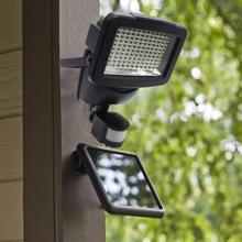 60LEDs Solar Wall Light Outdoor Garden Security Lamp PIR Motion Sensor Yard