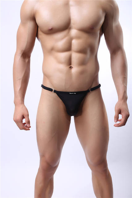 Men Briefs Sexy Underwear Adjust One size Suit for S-3XL Breathable Underpants Men Briefs Polyester Cozy Men Bikini Briefs