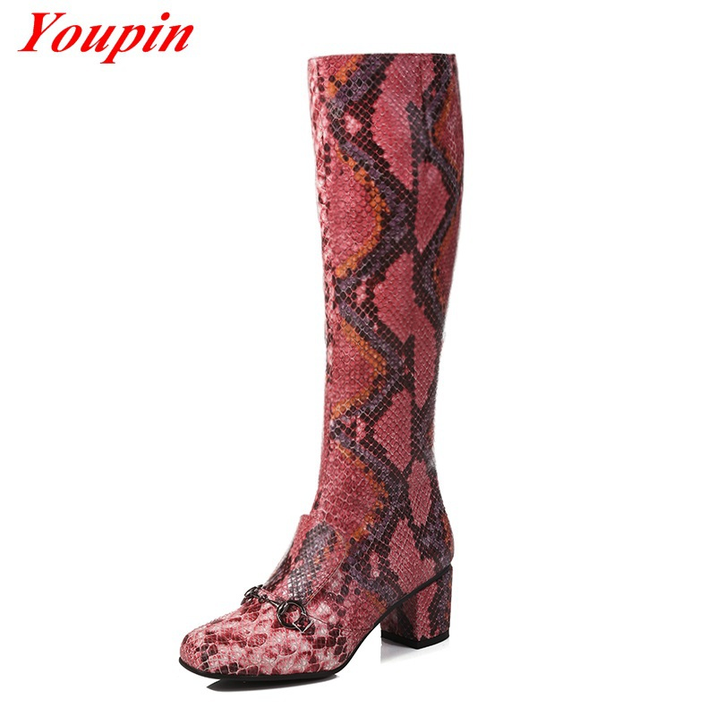 Serpentine Boots White Fashion over the knee boots 2015 Tall side zipper lace up thigh high