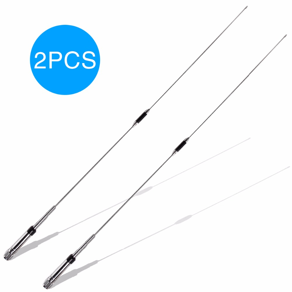 2pcs Nagoya NL-770R Dual Band VHF/UHF 144/430MHz 3.0/5.5 dBi High Gain NL 770R Car Radio Mobile/Station Antenna Male PL-259