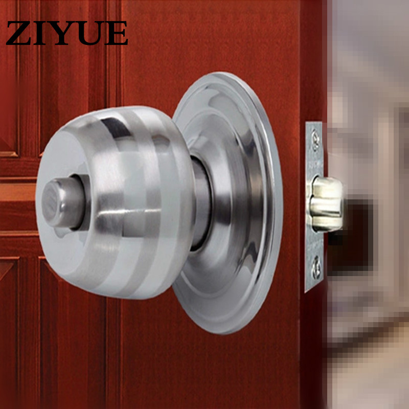 Free Shipping Stainless Steel Ball Lock Copper Lock Core Ball Lock Indoor Door Lock Wooden Door Ball & Online Get Cheap Door Balls -Aliexpress.com | Alibaba Group Pezcame.Com