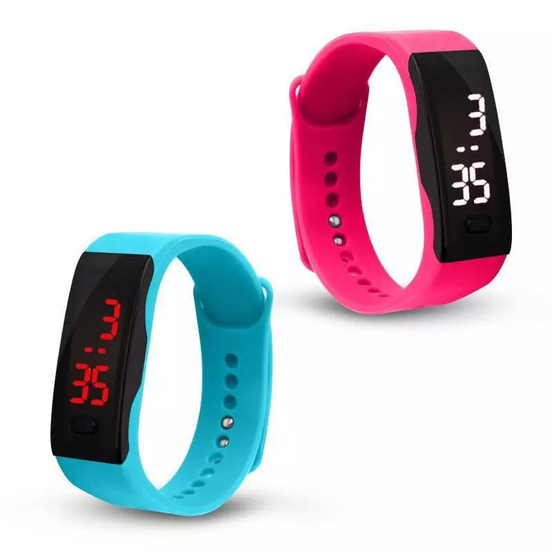 Casual Touch Screen LED Digital Watch Men Women Ultra Thin Bracelet Sports Silicone Wrist Watches Unisex Clock Relogio Masculino