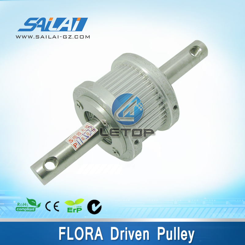 Good price!!!Flora motor drive pulley Flora LJ-320P Printer Double Pulley luxcase защитная пленка для samsung galaxy a3 sm a300f суперпрозрачная