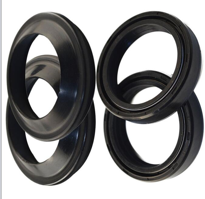 Motorcycle Parts 39*52 Front Fork Damper Oil Seal & Dust Seals Suitable for Kawasaki ZR250 BJ250 BALIUS 250 Suzuki  VL800 oil seal
