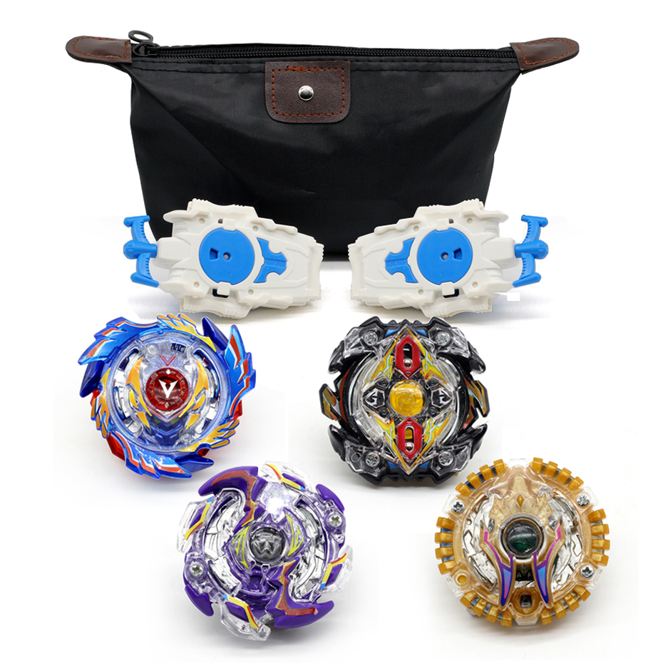 <font><b>Beyblade</b></font> <font><b>Burst</b></font> Set <font><b>Beyblade</b></font> Original Metal Fusion Launcher Grip Packet God Spinning Tops Bey Blade Blades Toy B122 <font><b>B139</b></font> B144 133 image