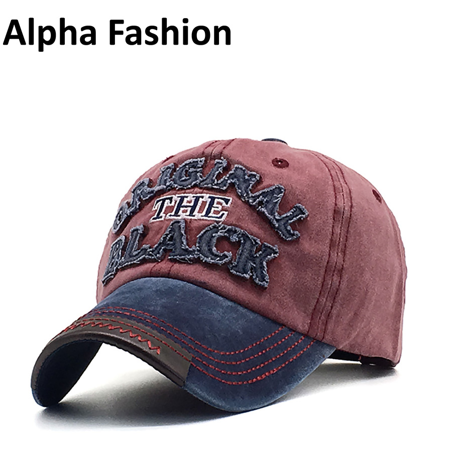 Alpha Fashion 100% Washed Denim Quality Unisex Baseball Caps Spring Summer Autumn Snapback Gorras Hats Embroidery Letter Casual cntang summer embroidery letter w baseball cap fashion cotton snapback for men women trucker hat unisex casual caps gorras