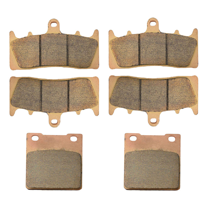 Motorcycle Front and Rear Brake Pads for SUZUKI GSXR750 W/T/V/X TL1000 R GSXR1100 W GSF 1200 SK/K Bandit GSX1300 R Hayabusa motorcycle front rear brake pads for kawasaki gpx 600 r zx600 1988 1996 gpx 750 r zx750 1987 1989 zr750 1991 1995 zx100 zx10 p04