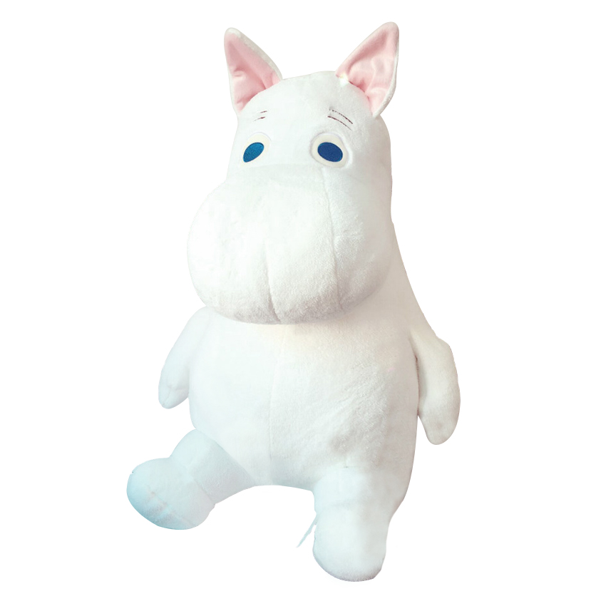 1 Piece 9.8 Cartoon Movie Moomin Plush Animal Toys Soft Stuffed Animal Plush Hippo Toys Promotional Toy Chrismas gift for kids cute cartoon dinosaurs plush toys animal plush toy toothless dragon stuffed animal dolls movie toys for kid gift toys for childr