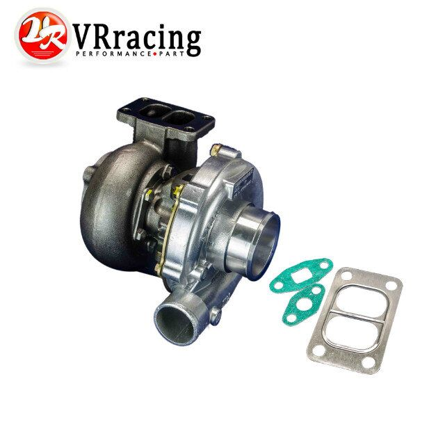 VR RACING UNIVERSAL TURBO T3 T4 T3 KKK TURBOCHARGER 4 BOLT COMPRESSOR 50A R 350HP VR