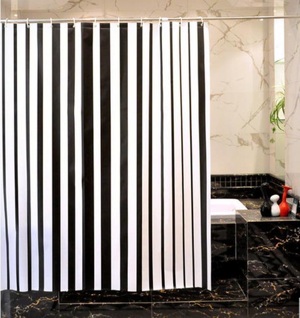 Free Shipping The Bathroom Bath Shade Hotel Toilet Door Curtain Hanging Warm Parion Stripe