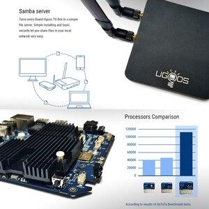 Image 5 - UGOOS AM6 AM3 חכם אנדרואיד 9.0 טלוויזיה תיבת Amlogic S922X 2GB LPDDR4 / 16GB 2.4G & 5G WiFi 1000M LAN DLNA BT 5.0 4K HD Media Player