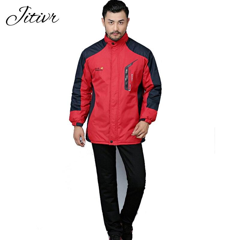 2017 New Women Men s Coats Plus Size WaterProof Warm Casual Fall Windbreaker Zipper Coats With