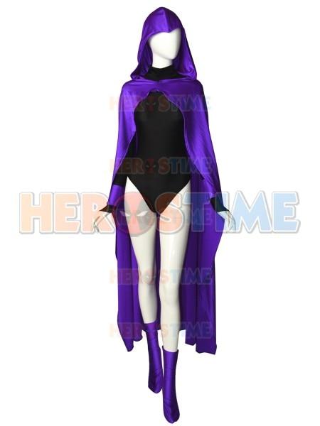 Dc Teen Titans Raven Cosplay Costume Anime Women Girls -1239