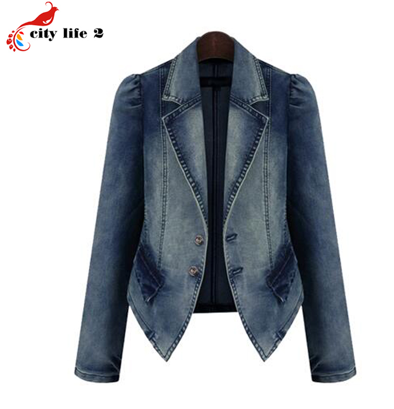 Compare Prices on Fitted Denim Jacket for Women- Online Shopping