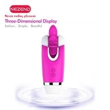 NEZEND Rotation Oral Erotic Female Masturbator Adult Games Clitoris Stimulator Sex Toys for Women LIcking Vibrator