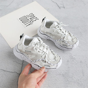 Image 3 - Childrens Shoes 2020 New Toddler Boys Girls Sport Shoes Reflective Shoelace Breathable Outdoor Tennis Fashion Kids Sneakers