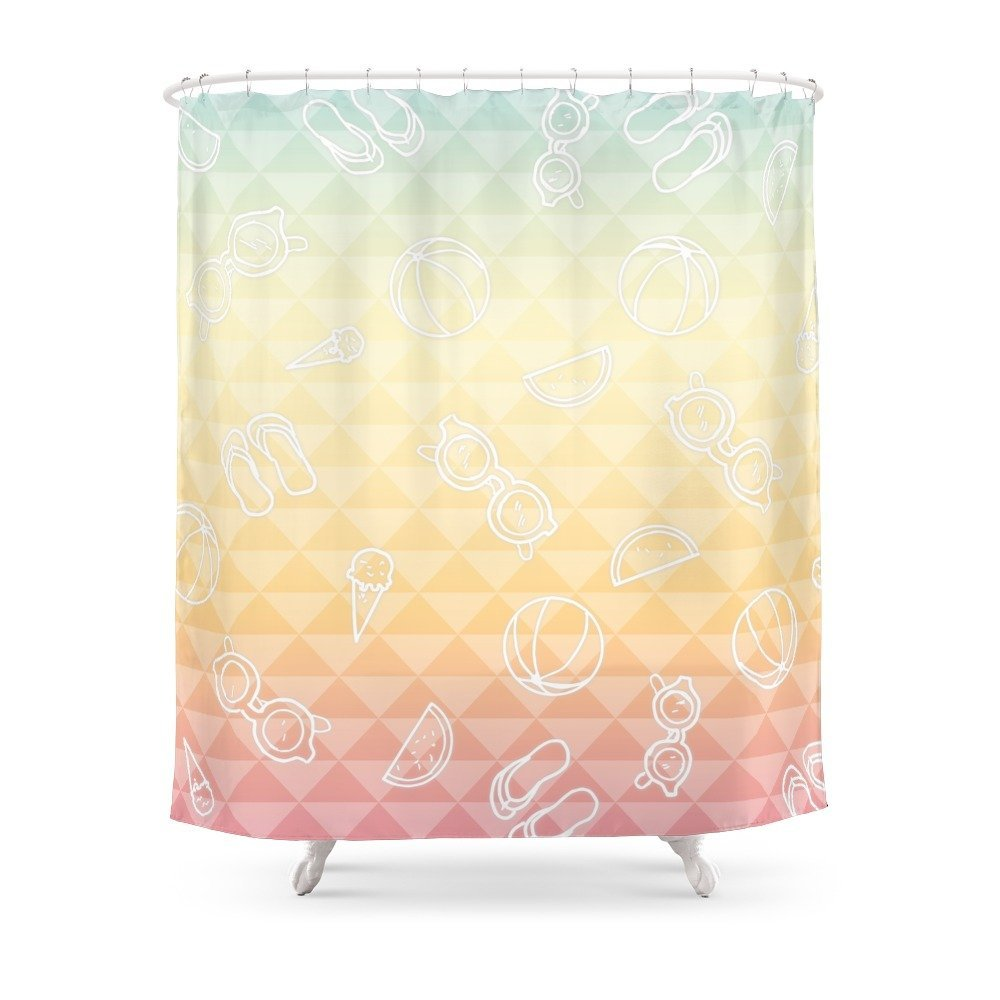 Summer Is A State Of Mind Shower Curtain Waterproof
