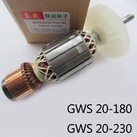 Бутик переменного тока 220 В приводной вал Электрические отбойные молотки угловая шлифовальная машина ротор для Bosch GWS20-180/GWS20-230, высокого кач...