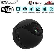 الأصلي V2 P2P IP كاميرا صغيرة واي فاي كاميرا كامل HD 4K 1080P للرؤية الليلية كشف الحركة CMOS الاستشعار مسجل كاميرا مايكرو