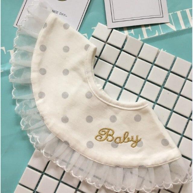 2018 New Infant Baby Boys Girls Cotton Round Bibs Summer Dinner Bibs Bandana Burp Cloths For Children Feeding Care