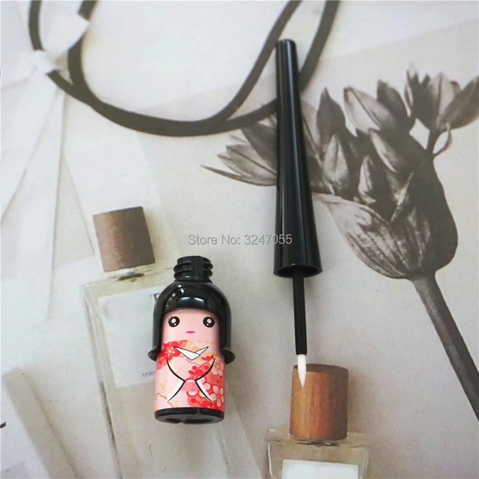 DIY Handmade Cute Lovely Cosmetic Eyeliner Tube, Empty