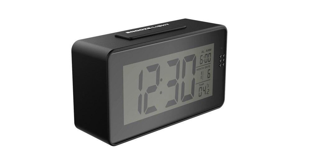 1080 P mini câmera Wi-fi com exibição de tempo relógio eletrônico de vigilância vídeo remoto de detecção de movimento P2P two-way intercom câmera