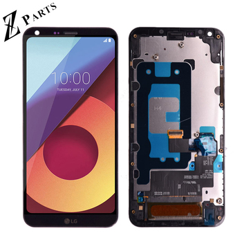 "5.5"" Original For LG Q6 LG-M700 M700 M700A US700 M700H M703 M700Y LCD DIsplay + Touch Screen Digitizer Assembly With Frame"