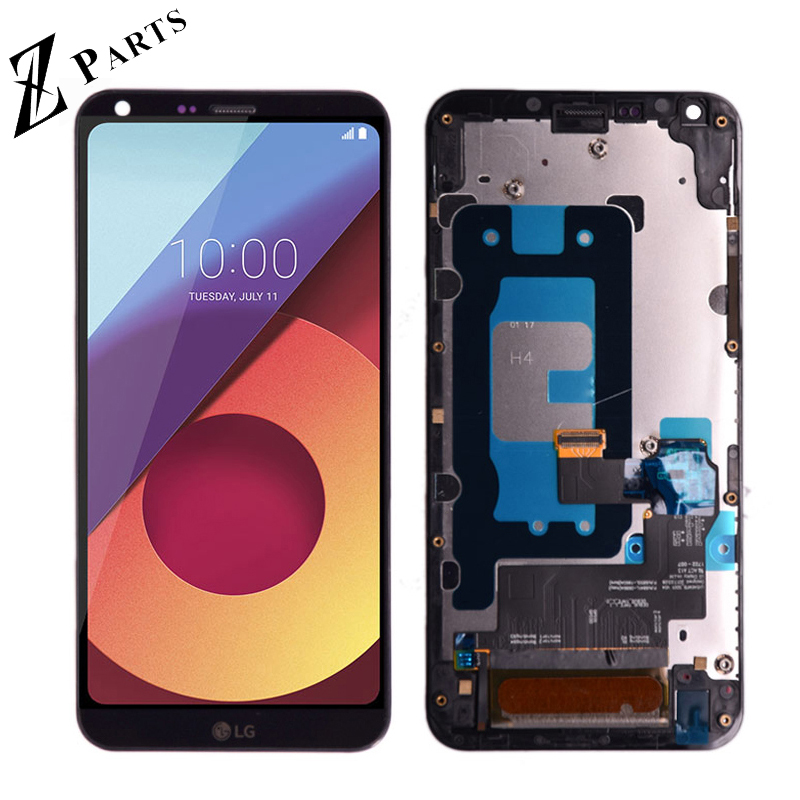 5.5'' Original For LG Q6 LG M700 M700 M700A US700 M700H M703 M700Y LCD DIsplay + Touch Screen Digitizer Assembly With Frame