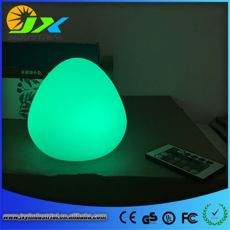 Free Shipping Colorful LED Dew Break-resistant, rechargeable LED glowing lighted LED Peach,LED Swimming Pool Lamp remote control