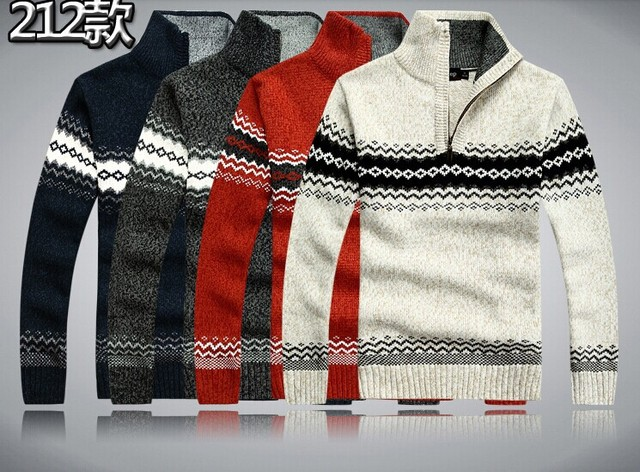 China Top Brand Wool Men Pullover Plus Size M 2xl Design Thick